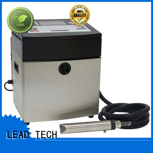 LEAD TECH best inkjet printer for ink usage professtional for pipe printing