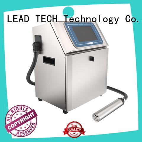 LEAD TECH commercial production inkjet printers fast-speed aluminum structure