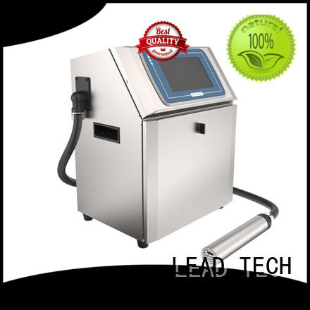 LEAD TECH hot-sale best continuous ink printer professtional reasonable price
