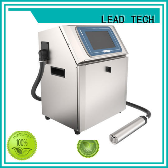 LEAD TECH inkjet printer ink drying time high-performance for auto parts printing