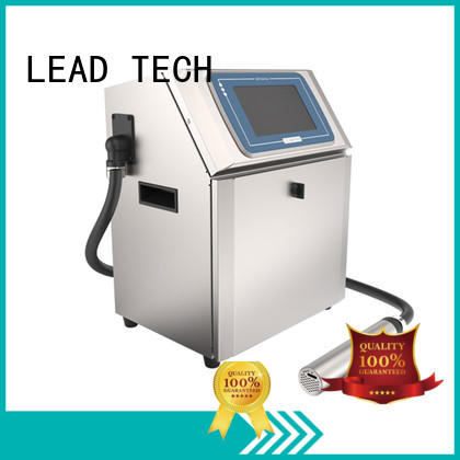 LEAD TECH bulk commercial inkjet printer easy-operated cooling structure