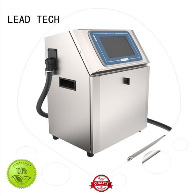 LEAD TECH innovative inkjet coding printer fast-speed reasonable price