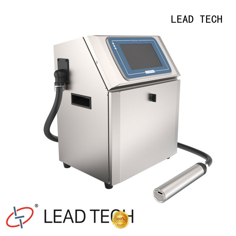 LEAD TECH continuous inkjet printer good heat dissipation best workmanship