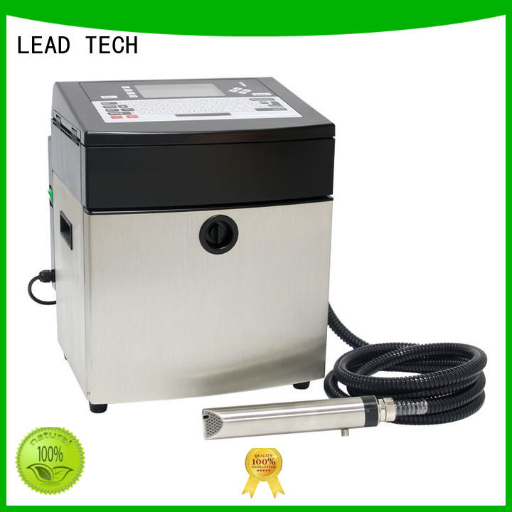 LEAD TECH commercial industrial inkjet printer custom aluminum structure