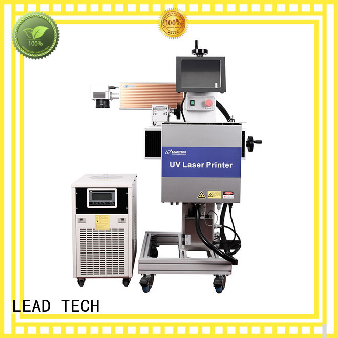 LEAD TECH laser marking machine easy-operated best price