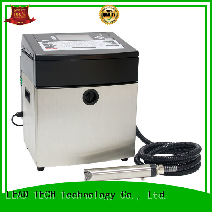LEAD TECH dust-proof inkjet printing machine easy-operated at discount