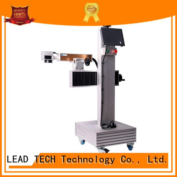 LEAD TECH aluminum structure laser printing machine fast-speed