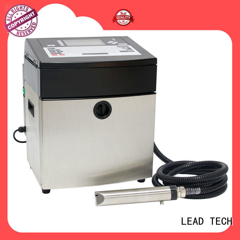 LEAD TECH commercial cij inkjet printer from best fatcory