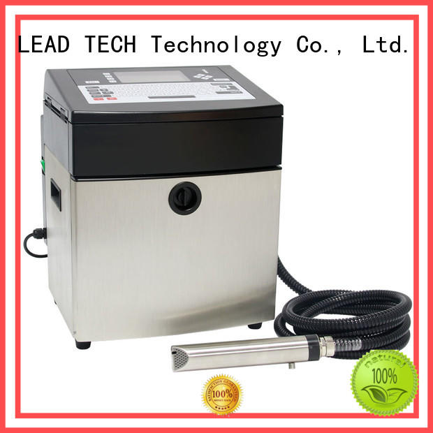 LEAD TECH bulk inkjet date code printer good heat dissipation aluminum structure