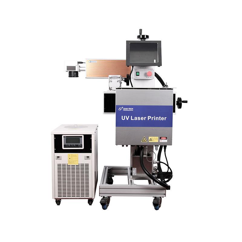 Mascarilla circular médica Mascarilla UV Máquina de impresión de marcado láser LT80003U LT8005U