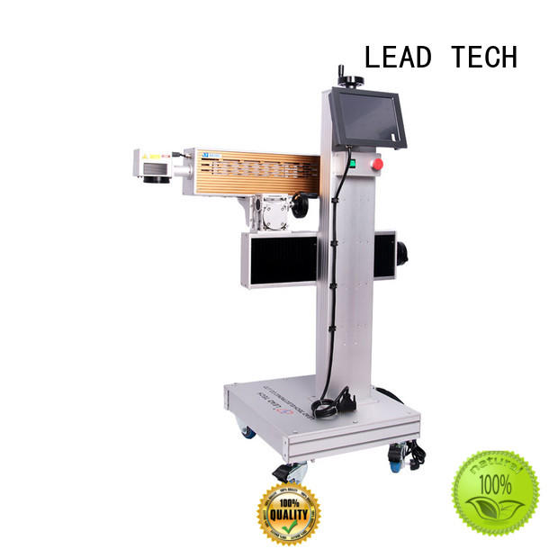 LEAD TECH water cooling structure laser machine for sale manufacturers for tobacco industry printing