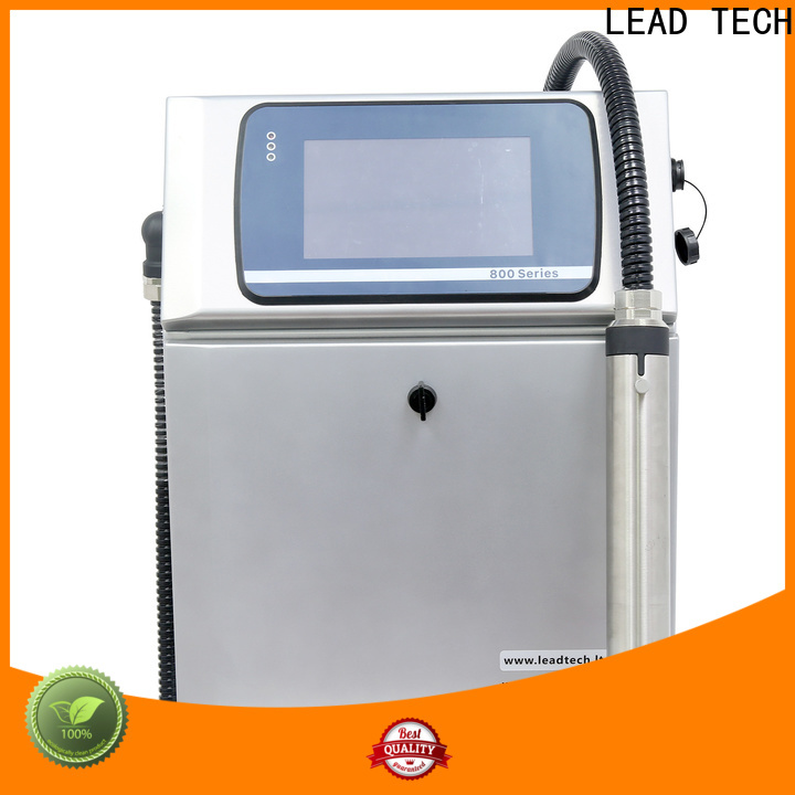 LEAD TECH domino cij printer for tobacco industry printing
