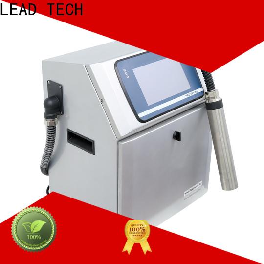 LEAD TECH inkjet printer info company for beverage industry printing