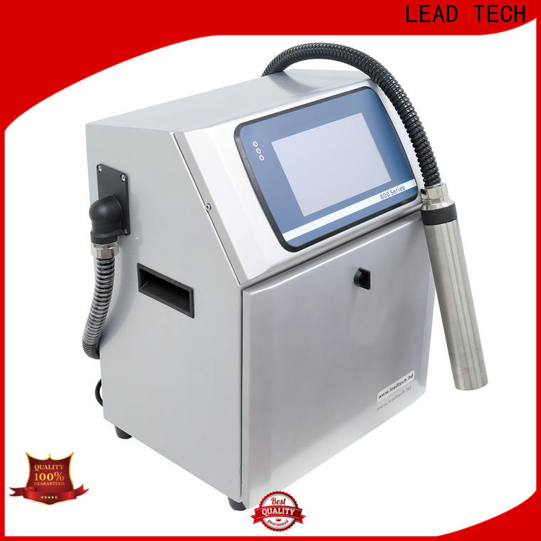 LEAD TECH ink jet system Supply for daily chemical industry printing