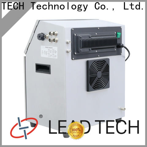 LEAD TECH textile inkjet printer company for tobacco industry printing