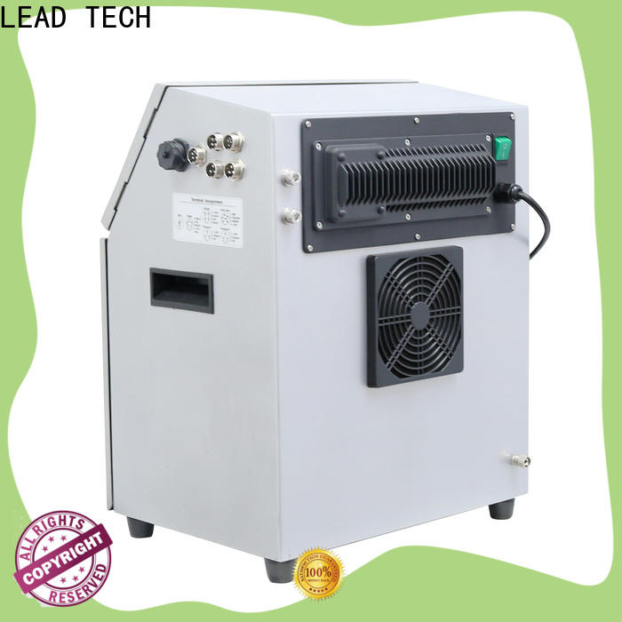 LEAD TECH advantages of inkjet printer good heat dissipation for tobacco industry printing