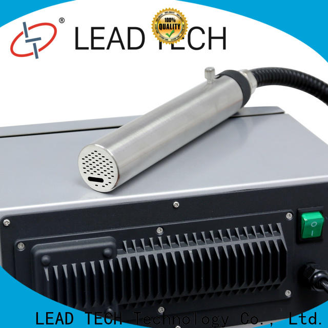 LEAD TECH domino inkjet printer for business for tobacco industry printing