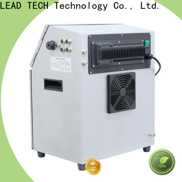 LEAD TECH liquid inkjet printers easy-operated for food industry printing