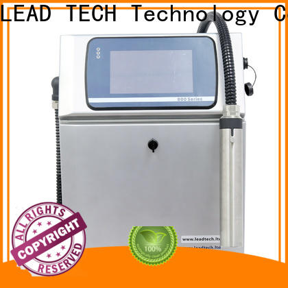 LEAD TECH continuous printing for food industry printing