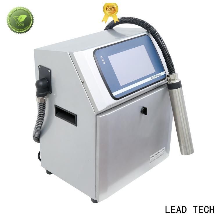LEAD TECH inkjet printer cleaner OEM for tobacco industry printing