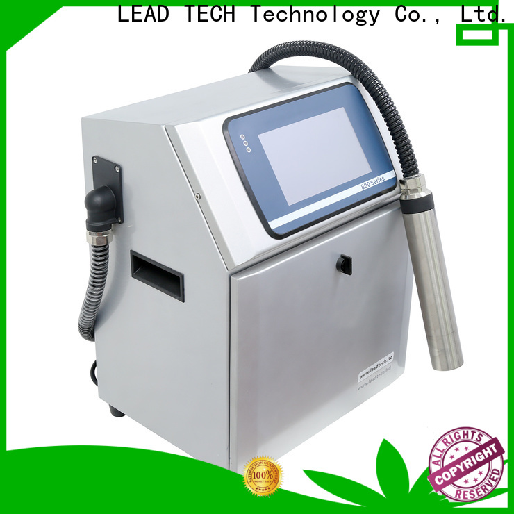 LEAD TECH bulk date coder printer custom for pipe printing
