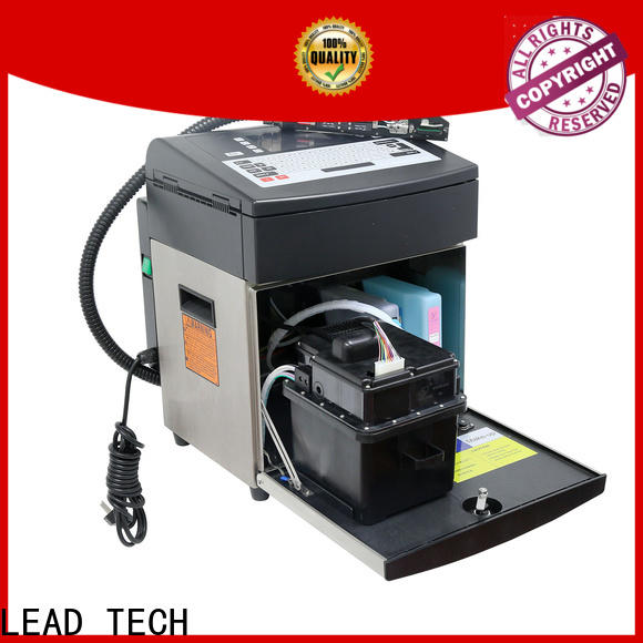 LEAD TECH New bestcode inkjet printer OEM for drugs industry printing
