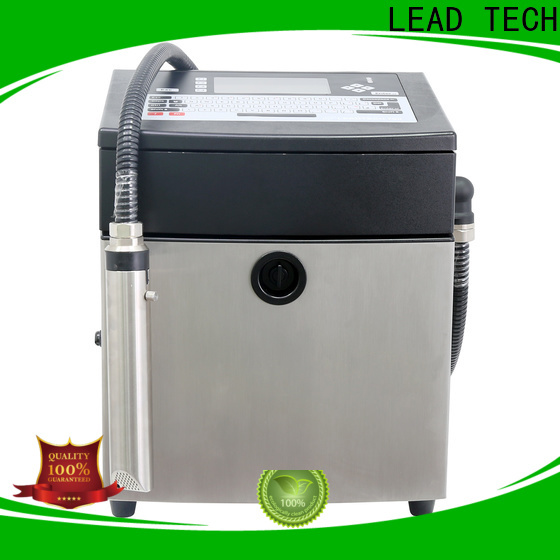 LEAD TECH inkjet printer with lowest ink cost Suppliers for drugs industry printing