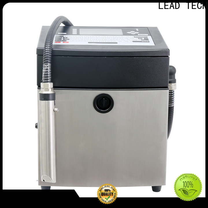 LEAD TECH High-quality recycle inkjet printer professtional for tobacco industry printing