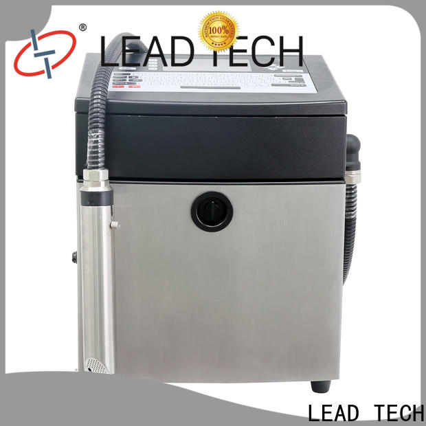 LEAD TECH Best videojet cij easy-operated for tobacco industry printing