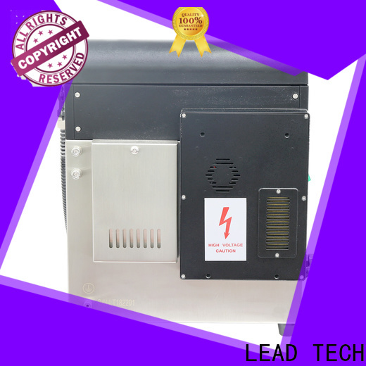 LEAD TECH Custom inkjet bottle printer high-performance for food industry printing