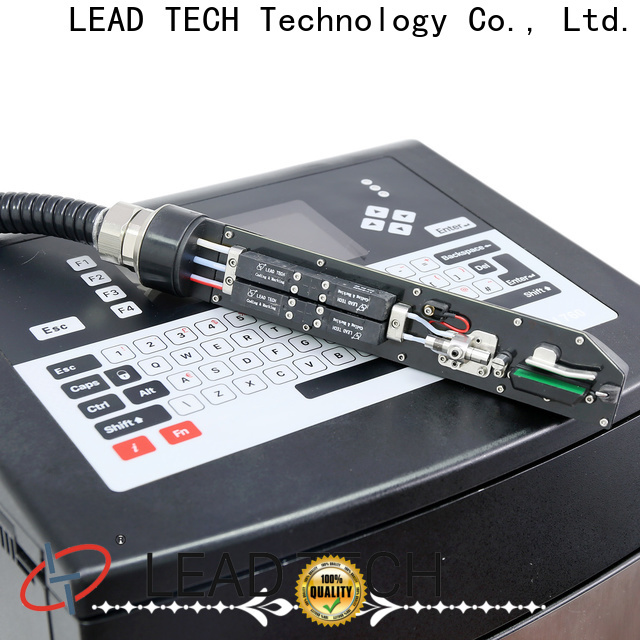 LEAD TECH continuous laser printer factory for beverage industry printing