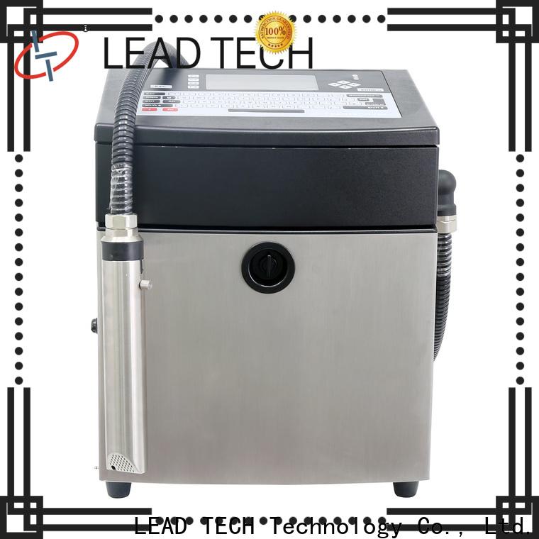 LEAD TECH bulk commerical inkjet printer custom for building materials printing