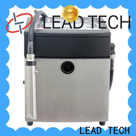 LEAD TECH small inkjet company for building materials printing