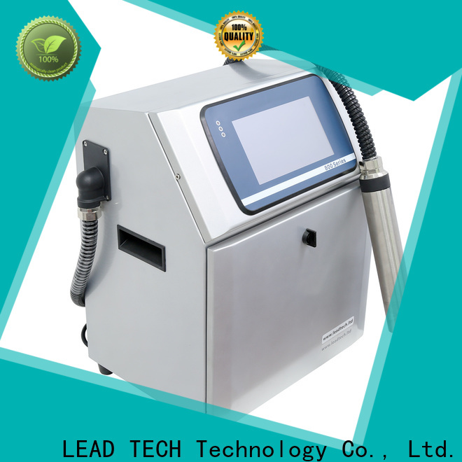 LEAD TECH bulk wide inkjet printer for business for building materials printing