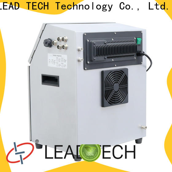 LEAD TECH non contact inkjet printer custom for food industry printing