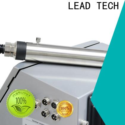 LEAD TECH bulk inkjet bottle printer for pipe printing