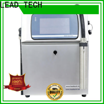 LEAD TECH dust-proof handheld inkjet printer fast-speed for household paper printing