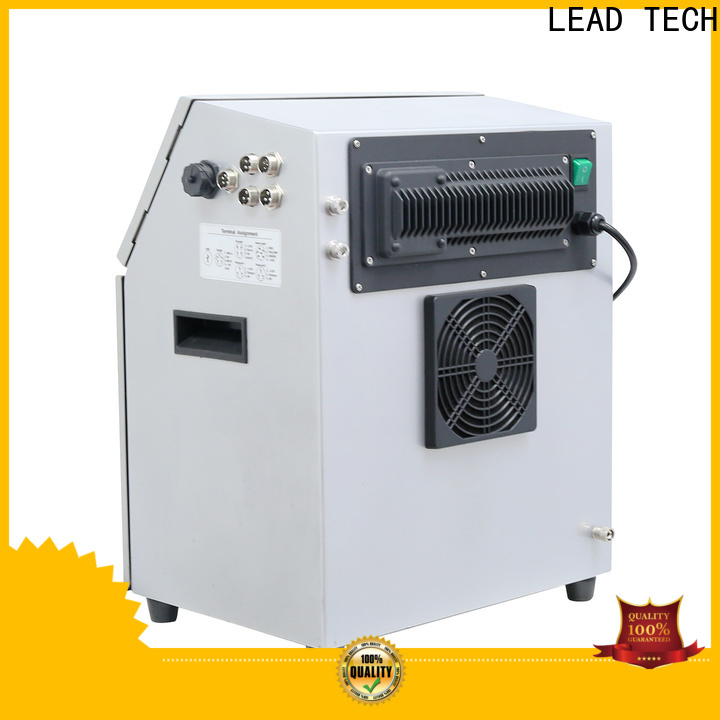 LEAD TECH inkjet coding equipment factory for drugs industry printing