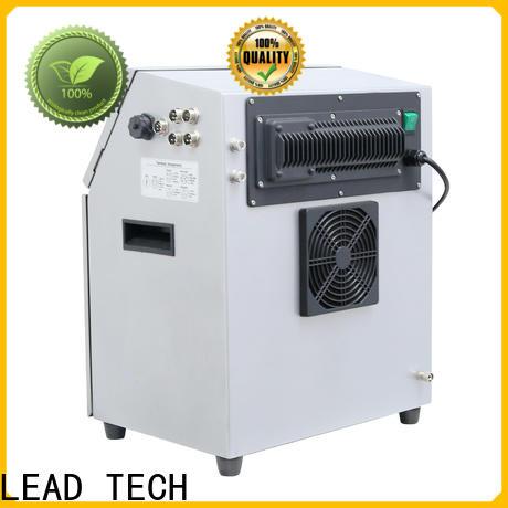 LEAD TECH bulk image inkjet printer factory for pipe printing