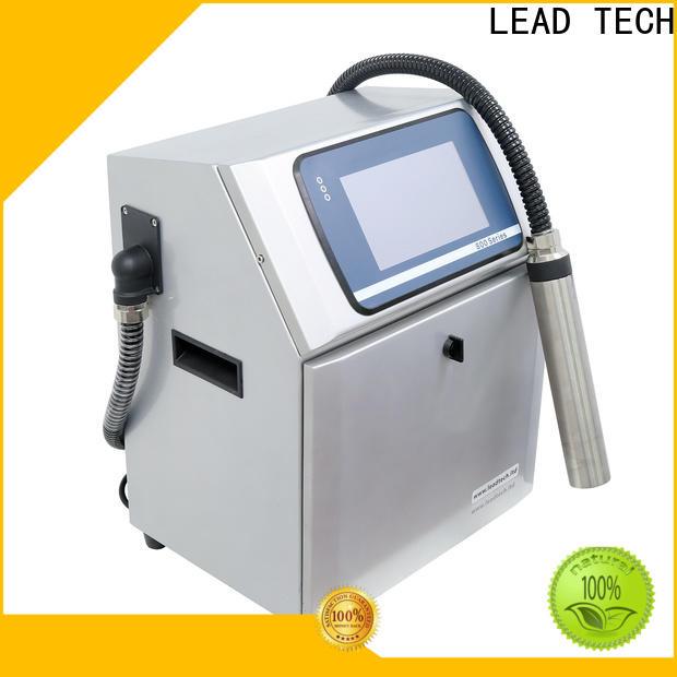 LEAD TECH carton inkjet printer OEM for building materials printing