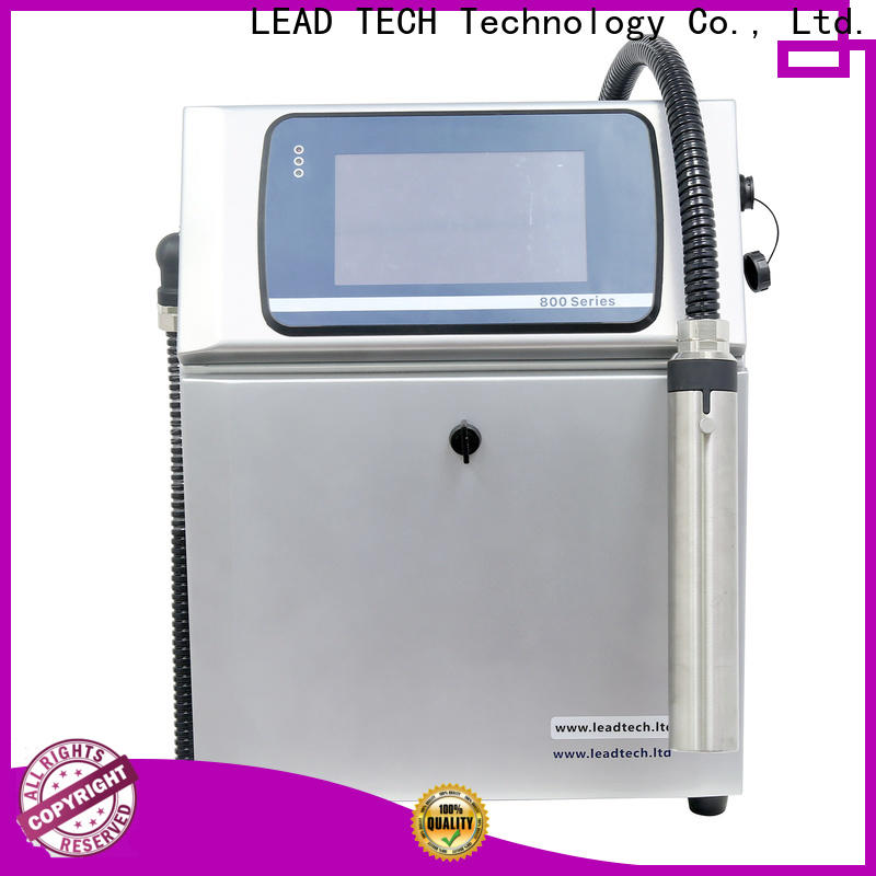 LEAD TECH inkjet printer history Supply for building materials printing