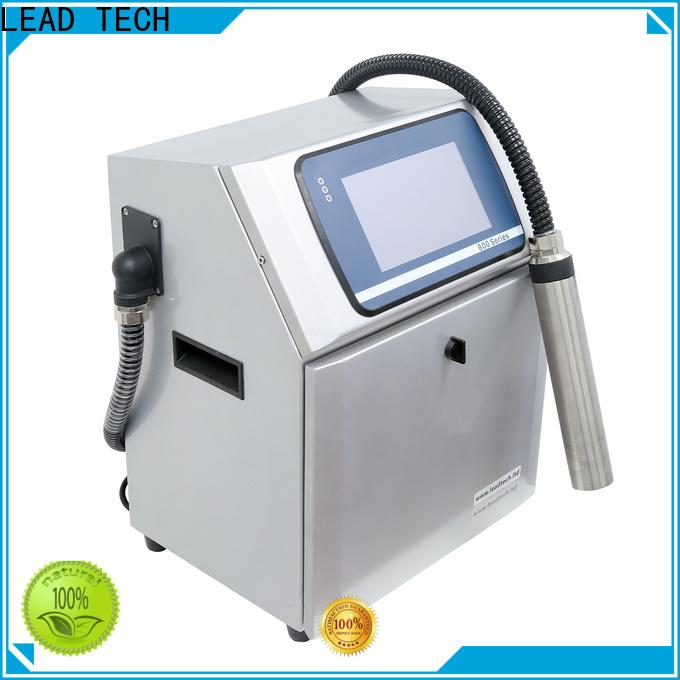 LEAD TECH inkjet printer models company for pipe printing
