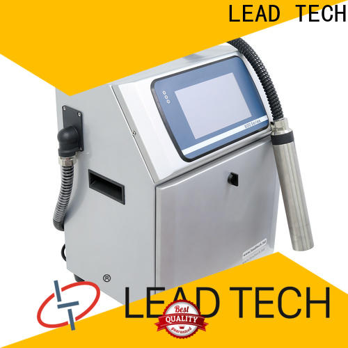 LEAD TECH an inkjet printer easy-operated for pipe printing