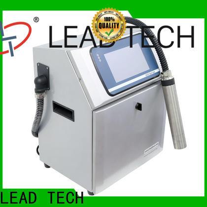 LEAD TECH ink coder manufacturers for food industry printing
