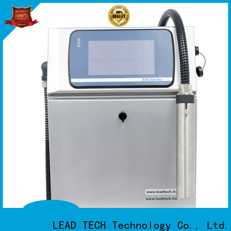 LEAD TECH dust-proof mono inkjet printer OEM for pipe printing