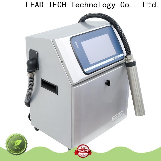 LEAD TECH cij printer manufacturers OEM for food industry printing