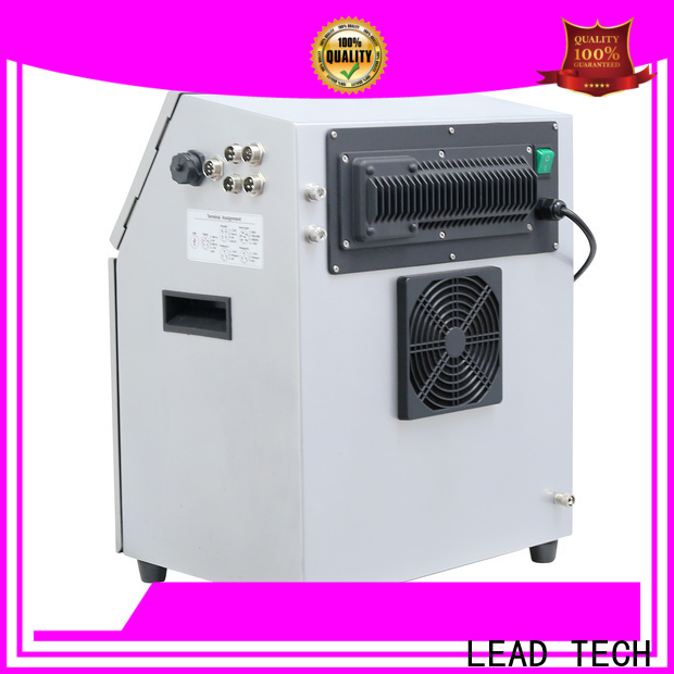 LEAD TECH high-quality continuous laser printer for auto parts printing