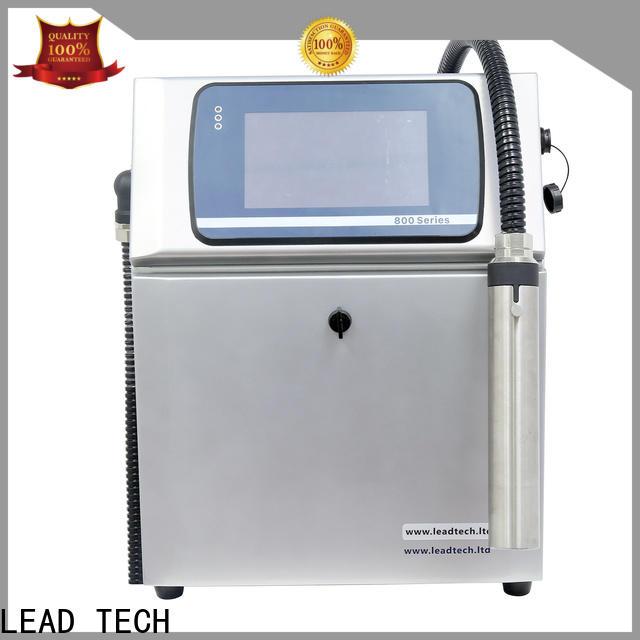 LEAD TECH Wholesale cij printer price OEM for drugs industry printing