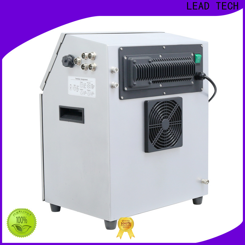 LEAD TECH commercial inkjet printer for batch coding for household paper printing