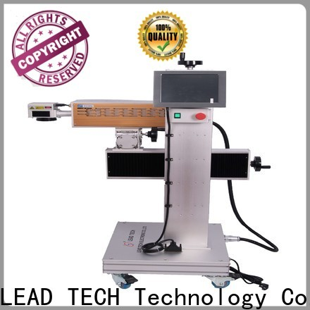 LEAD TECH High-quality gold laser marking machine price company for drugs industry printing